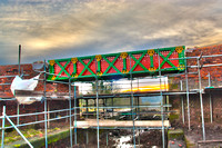 Meccano Bridge, Little Lever, Bolton