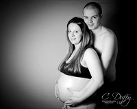 Keeley & Gareth Maternity Portraits-58