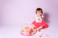 Zoe Cake Smash Portraits
