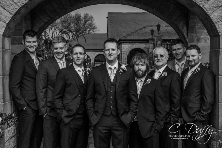 Wedding photographs at Ferraris Country House Hotel