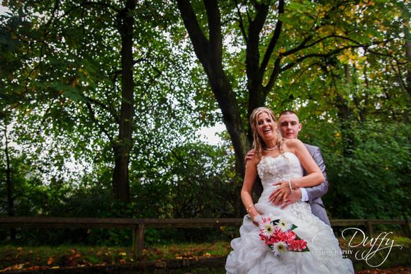 Wedding photographs at the Bolholt Hotel in Bury, Horseshoe Suite