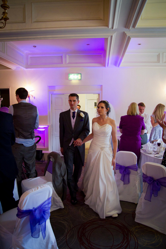 Wedding breakfast and reception  at the Last Drop Village in Bolton. Lancashire Wedding Photography