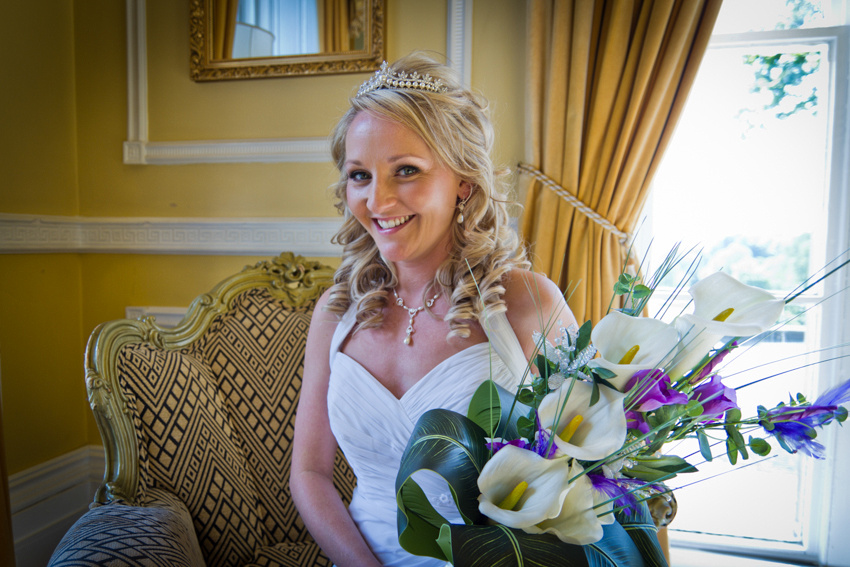 Shaw Hill Hotel Chorley, wedding photographs by C Duffy Photography. Bridal Portraits