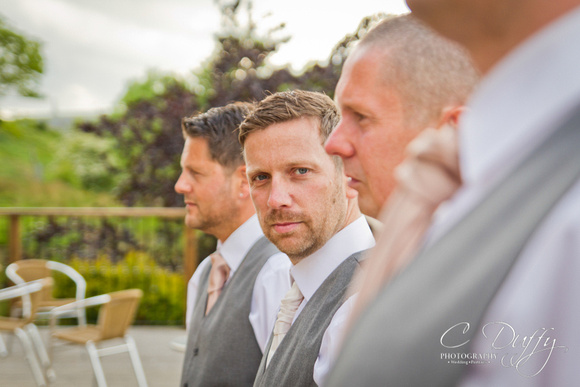 Groom and groomsmen photograph