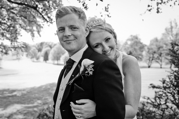 Bolton wedding photographer. C Duffy Photography. Bride and Groom Portrait