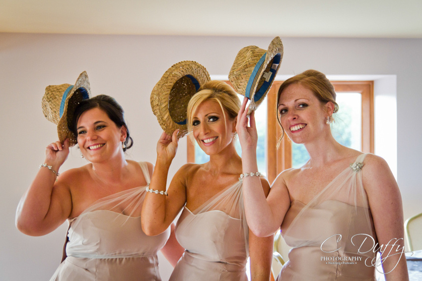 Bridesmaids having fun at The Fisherman's Retreat photograph