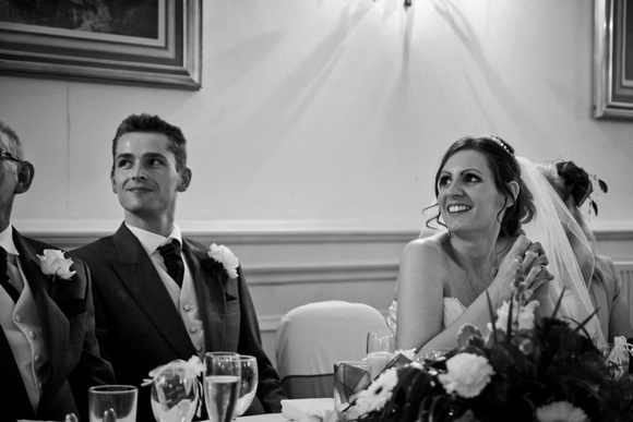 Wedding speeches. Reportage, natural, documentary wedding photography