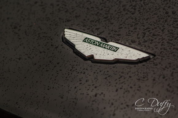 Aston Martin wedding car, wedding car hire, Bolton wedding car