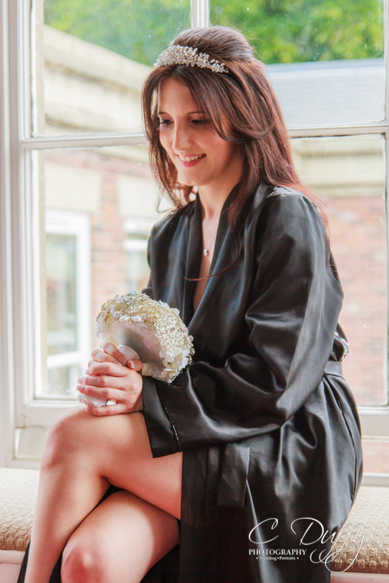 Bridal preparation photography by C Duffy Photography