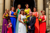 Chadderton Town Hall Wedding Photographer-10006