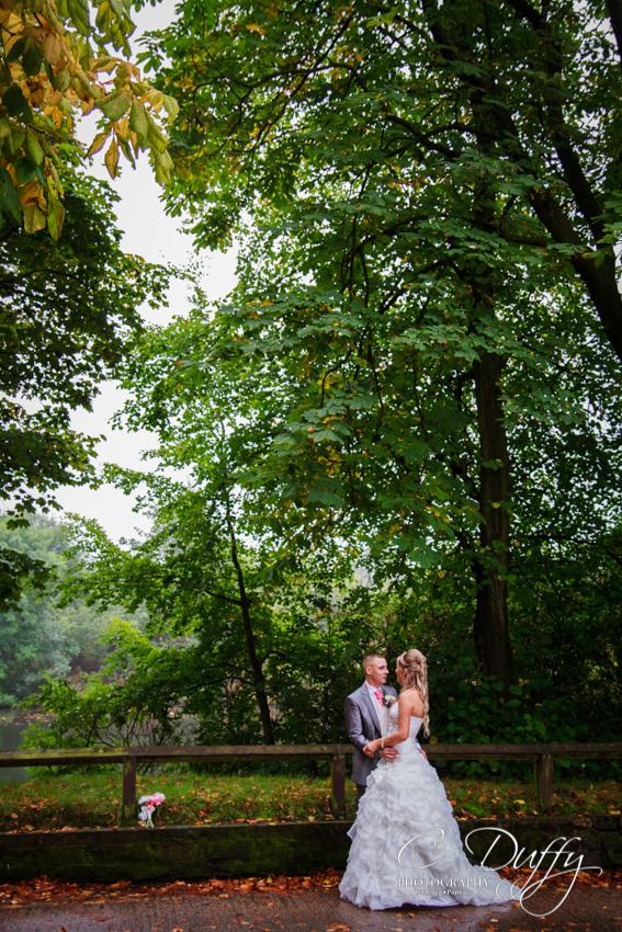 Wedding photographs at the Bolholt Hotel in Bury
