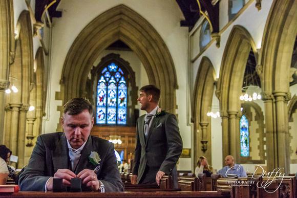 St Mark's, Worsley. Manchester Wedding Photographer
