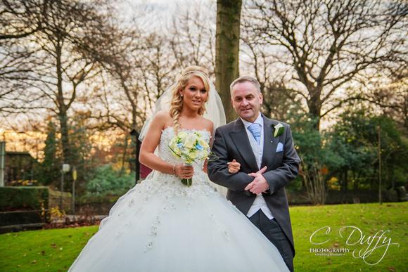 Wedding at Christ Church in Heaton, Bolton