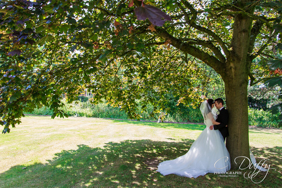 Beautiful Bride and Groom Portraits. Farington Lodge Wedding