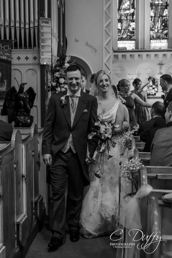 Bolton Wedding Photography. Christ Church Harwood