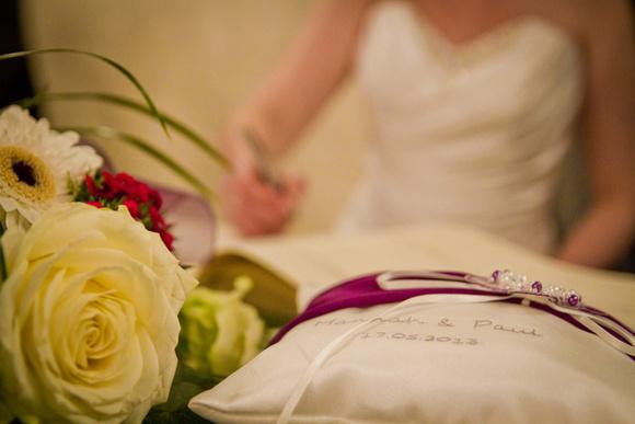 Wedding service image. The Mimosa Suite, Last Drop Village, Bolton