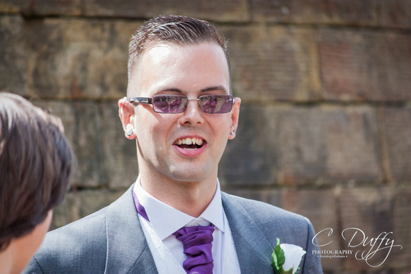 Rochdale registry office wedding photograph